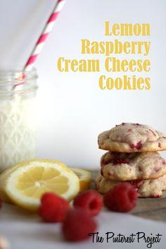 Lemon Raspberry Cream Cheese Cookies