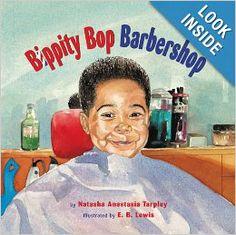 Bippity Bop Barbershop: Natasha Anastasia Tarpley, E. B. Lewis: 9780316033824: Amazon.com: Books