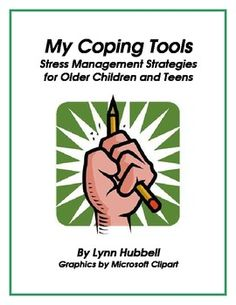 """My Coping Tools: Stress Management Strategies for Older Children and Teens"" provides teachers a research based strategy for responding to older elementary and secondary students who demonstrate difficulty maintaining appropriate behavior at school. Visual supports are included as well as a step by step description of an instructional technique for teaching an array of coping tools."