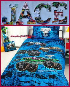 Monster Jam Inspired Personalized/Customized by annhenderson1422, $6.50