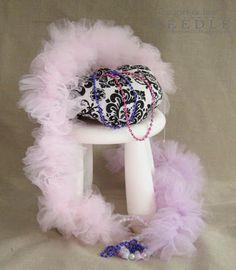 Make a Fluffy Tulle Boa-EASY!