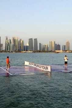 Water Tennis?