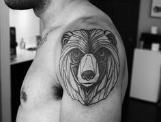 I NEED a bear tattoo.