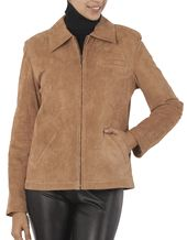 Are you looking for a #winter coat that is warm, but flattering to your figure? Most warm winter #coats are bulky adding on extra pounds, but a trendy suede leather jacket is warm and slimming to your figure. http://www.luxurylane.com/women-suede-leather-jackets.html