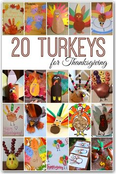20 turkey activities for kids - crafts recipes and learning