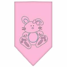Pink Easter Bunny Dog Bandana  http://www.squidoo.com/easter-dresses-costumes-dogs