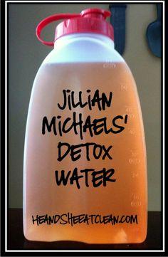 Recipe For Jillian Michaels Detox Water