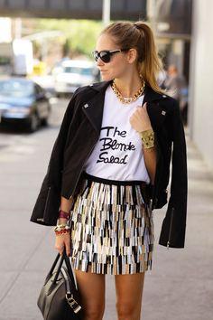 skirt, chiara ferragni, outfit, casual styles, street styles