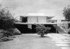 Casa Habitación 1962  Col. Jardines del Pedregal. México D.F.  Arq. (Sin datos)