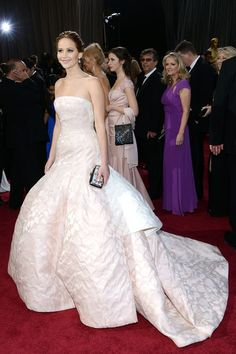 Jennifer Lawrence in Dior Couture at event of the Oscars 2013