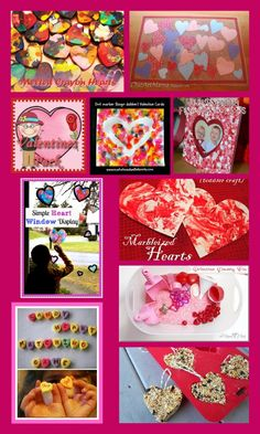 Valentine Activities for Kids...10 great crafts to do with your kids!
