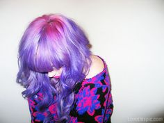 pink and purple hair girly hair colorful hair bright hair pink hair purple hair hair ideas