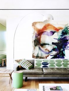 Shop the Room: A Living Room Awash in Color via @domainehome // Eve Wilson for The Design Files