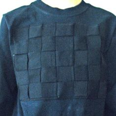 Applique Basketweave Shirt
