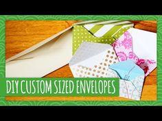 DIY Custom Sized Envelopes - Weekly Recap - HGTV Handmade (+playlist)