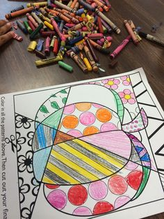 Interactive coloring sheets for fall and Thanksgiving. Students LOVE these--no two are ever the same!