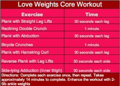 Show your core some love!