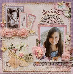 Scrapbook layout made with Websters Pages Western Romance collection & embellishments by DT member Gabrielle Pollacco