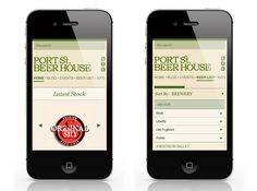Port Street Beer House App #beer #mobile #app