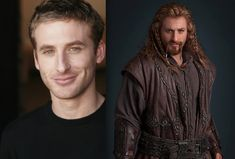 The Hobbit: Dwarves Before and After Makeup