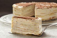 Mille-Crêpe Tiramisu Birthday Cake, Best Pastry Chefs 2013