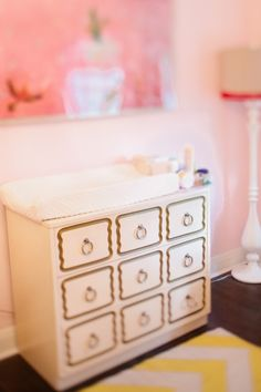 Cutest changing table ever.