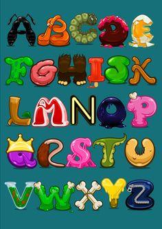 alphabet, Charming and fun.  :)