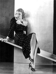 1934 Harriet Hilliard