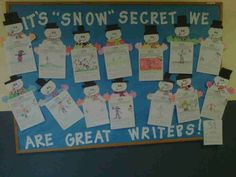 December Bulletin Board Ideas | Winter Writing Bulletin Board | December Bulletin Boards