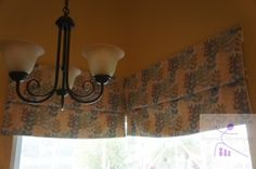 String free, Super easy to make Roman Blinds