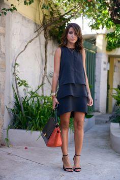 three layer dress