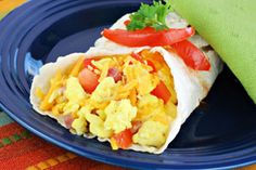 Chris Powell's Breakfast Burrito