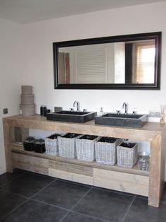 ... badmeubel vans een badkamermeubel steigerhout interieur badmeubel met