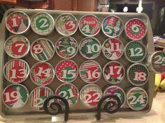 Adventing around; Super easy advent calendar