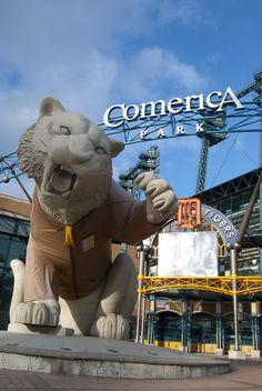 Detroit Tigers - Comerica Park