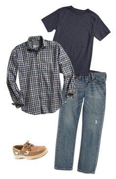 Thomas Dean Dress Shirt & True Religion Brand Jeans