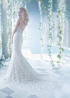 Bridal Gowns, Wedding Dresses by Alvina Valenta - Style AV9452