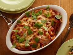 Cheesy Spinach Baked Penne #myplate #dairy #grains #veggies