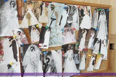 Guess The Famous Brides - Games for Bridal Shower or Hen Party / Bachelorette Party at The Purple Pumpkin Blog