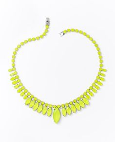 Sunburst Necklace by Ann Taylor. I ADORE a great pop necklace. Ann Taylor hit it on the head with this very affordable necklace.
