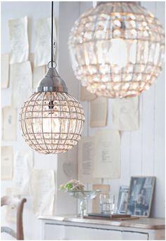 schöner wohnen lampen clear lamps glass crystal neutrals white interiors