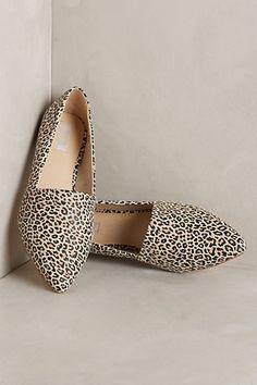 rwarrr... leopard loafers @anthropologie