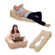 Oggi Elevation Complete Body Positioning System in Latte - BedBathandBeyond.com