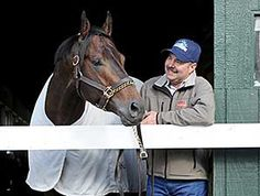 Trainer Billy Gowan and Ride on Curlin