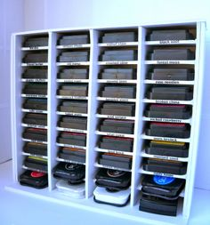 Lucky Flutterby Creations: Spring Cleaning with Foam Board Storage!!!!