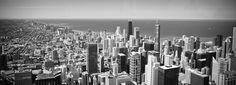 Chicago Skyline. $80.00, via Etsy.
