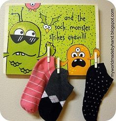 sock monster...