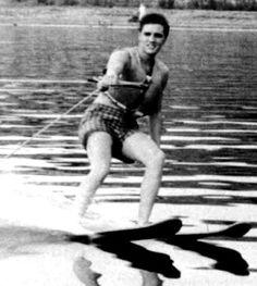 Rare ELVIS Photo water ski, elvi waterski, elvi photograph, elvi ski, rare elvi, elvi presley, 1956 water, elvis presley, king