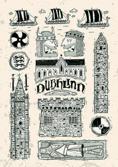 Dubhlinn by Peter Donnelly, via Behance