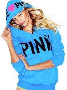 Blue VS LovePINK Pullover Hoodie